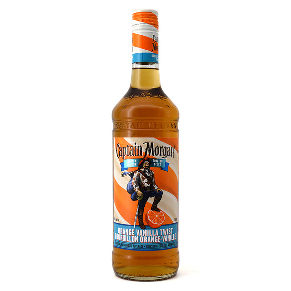 CAPTAIN MORGAN ORANGE VANILLA TWIST 750ML