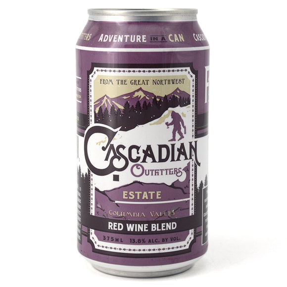 CASCADIAN OUTFITTERS RED BLEND 375ML