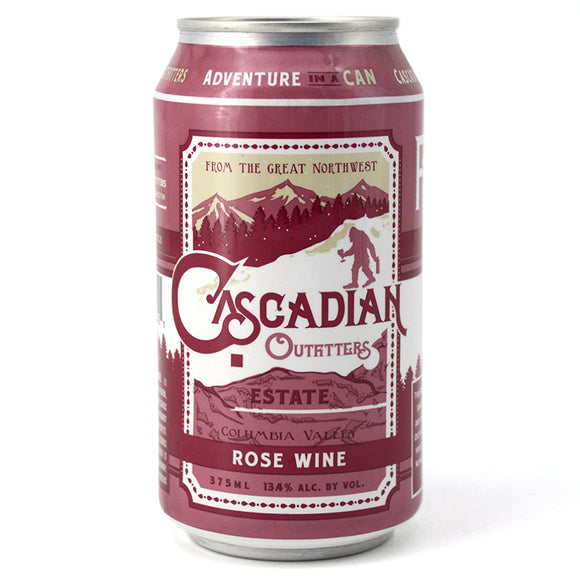 CASCADIAN OUTFITTERS ROSE 375ML