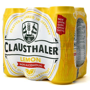 CLAUSTHALER LEMON NON-ALCOHOLIC 6C