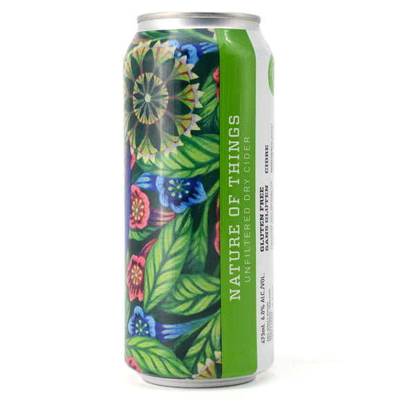 COLLECTIVE ARTS NATURE OF THINGS UNFILTERED DRY CIDER 473ML