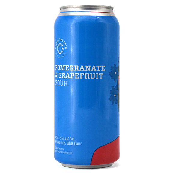 COLLECTIVE ARTS POMEGRANATE & GRAPEFRUIT SOUR 473 mL