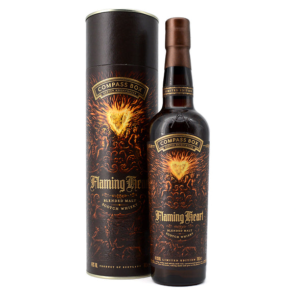 COMPASS BOX FLAMING HEART 700ML