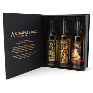 COMPASS BOX MALT WHISKY COLLECTION 3 x 50 mL