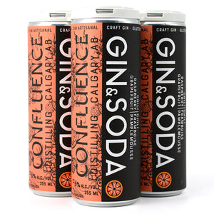 CONFLUENCE GIN & SODA CHILI RASPBERRY GRAPEFRUIT 4C
