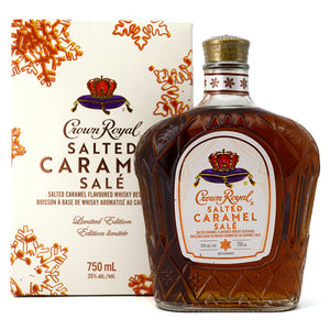 CROWN ROYAL SALTED CARAMEL 750ML