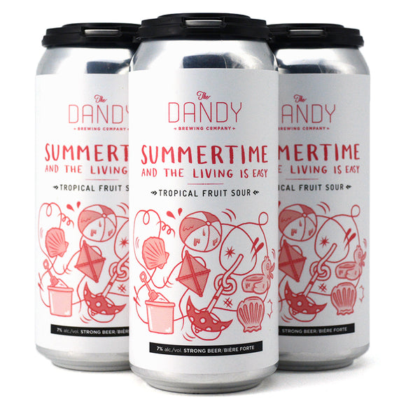 DANDY SUMMERTIME AND THE LIVING IS EASY TROPICAL FRUIT SOUR 4C