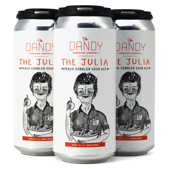 DANDY THE JULIA PEACH COBBLER SOUR ALE 4C