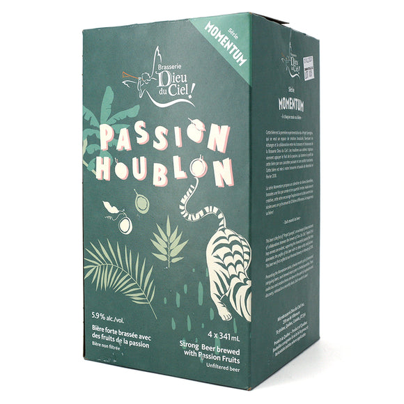 DIEU DU CIEL PASSION HOUBLON IPA W PASSION FRUIT 4B