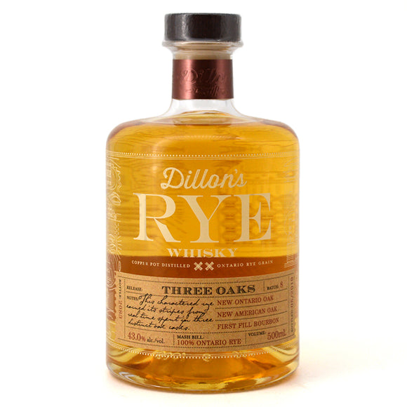 DILLON'S RYE WHISKY 500 mL