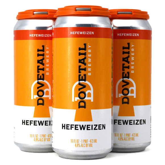 DOVETAIL BREWING HEFEWEIZEN 4C