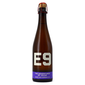 E9 THE ADVENTURES OF ZELDA BARREL AGED FARMHOUSE ALE 500ML