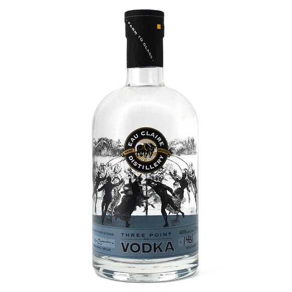 EAU CLAIRE THREE POINT VODKA 750ML