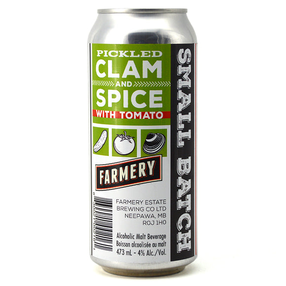 FARMERY PICKLED CLAM AND SPICE WITH TOMATO 473ML