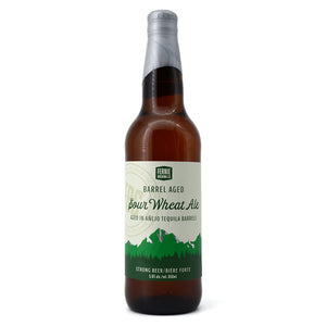 FERNIE BREWING BARREL AGED SOUR WHEAT ALE AGED IN ANEJO TEQUILA BARRELS 650ML