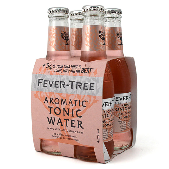 FEVER TREE AROMATIC TONIC WATER 4B