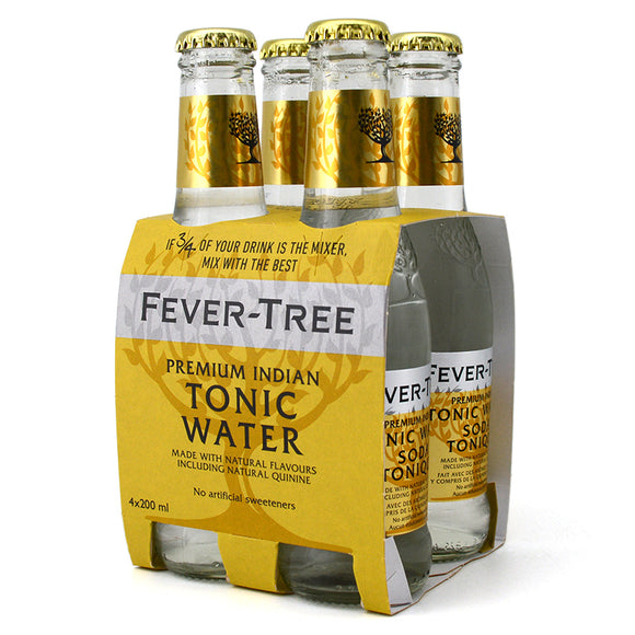 FEVER TREE PREMIUM INDIAN TONIC WATER 4B