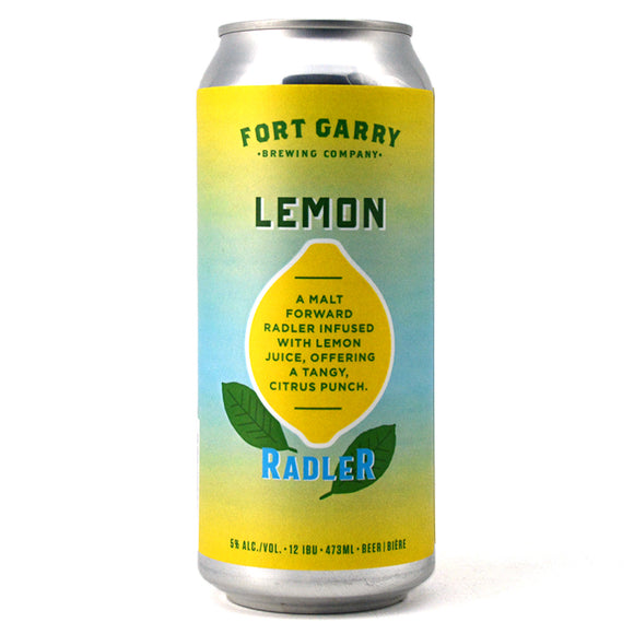 FORT GARRY LEMON RADLER 473 mL