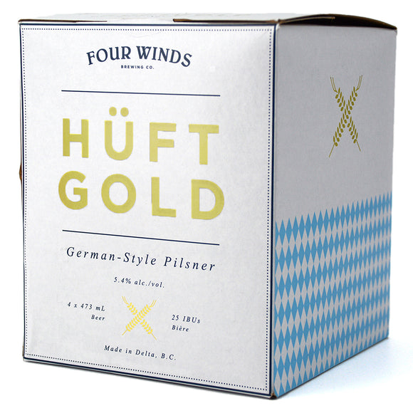 FOUR WINDS HUFTGOLD GERMAN PILSNER 4C