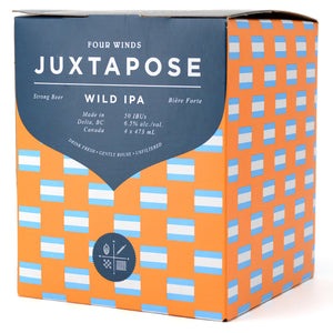 FOUR WINDS JUXTAPOSE WILD IPA 4C