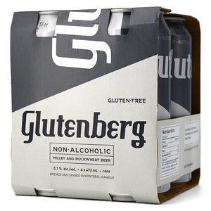 GLUTENBERG NON-ALCOHOLIC BEER 4C