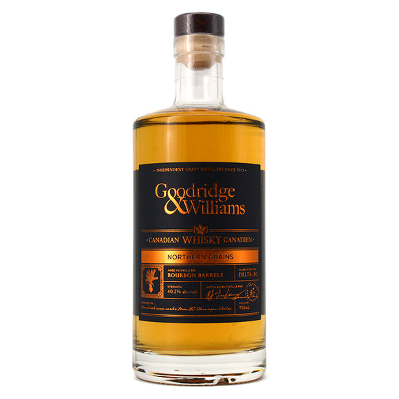 GOODRIDGE & WILLIAMS NORTHERN GRAINS WHISKY 750ML