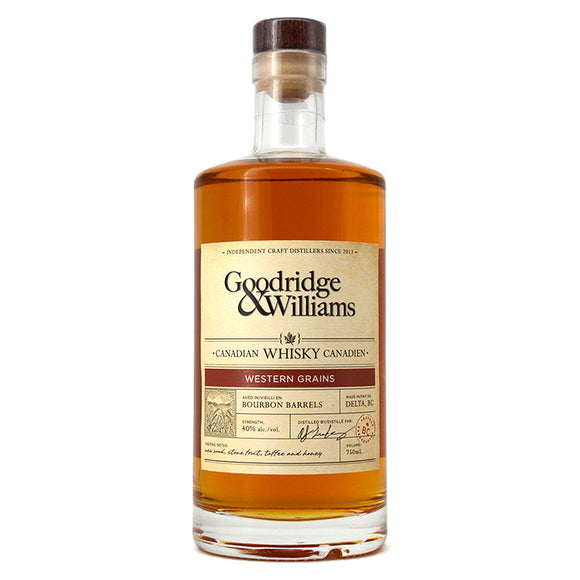 GOODRIDGE & WILLIAMS WESTERN GRAINS WHISKY 750ML