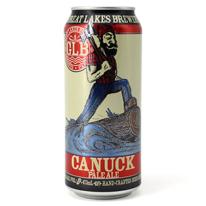 GREAT LAKES BREWERY CANUCK PALE ALE 473 mL