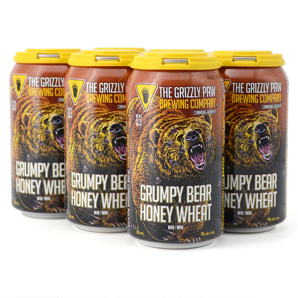 GRIZZLY PAW GRUMPY BEAR HONEY WHEAT 6C