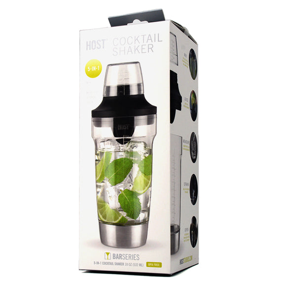 HOST 5-IN-1 COCKTAIL SHAKER