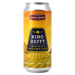 HOWE SOUND KING HEFFY IMPERIAL HEFEWEIZEN 473ML
