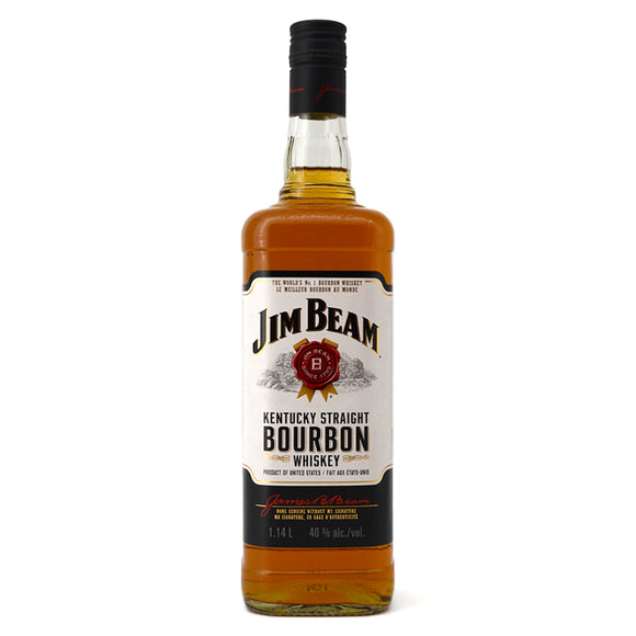 JIM BEAM WHITE LABEL 1.14L