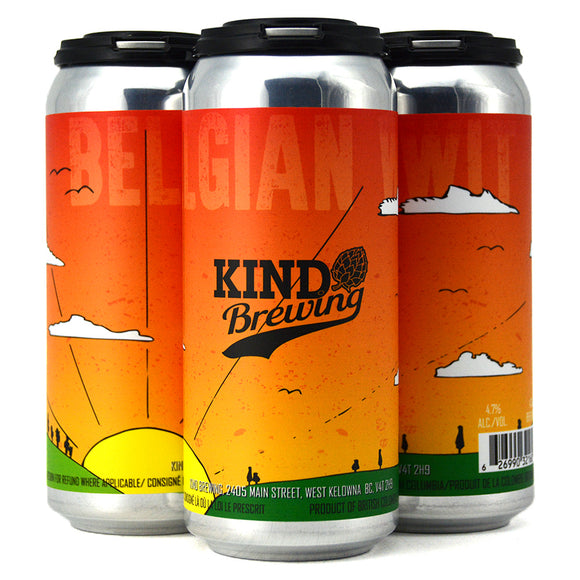 KIND BREWING BELGIAN WIT 4C
