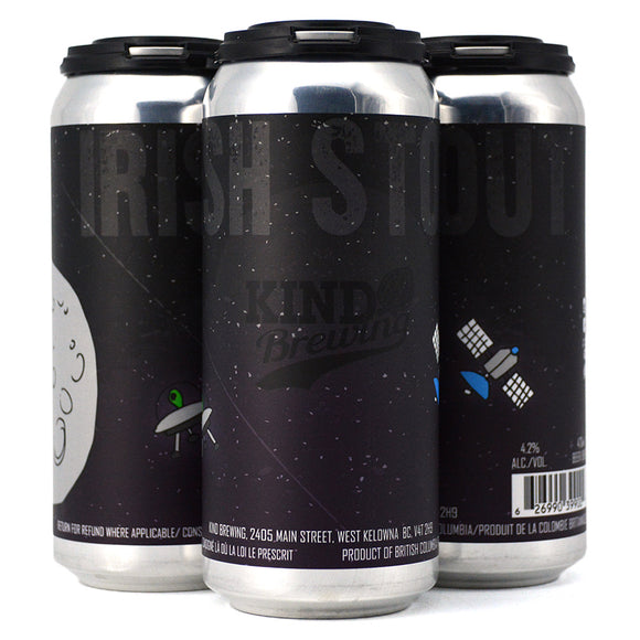 KIND BREWING IRISH STOUT 4C