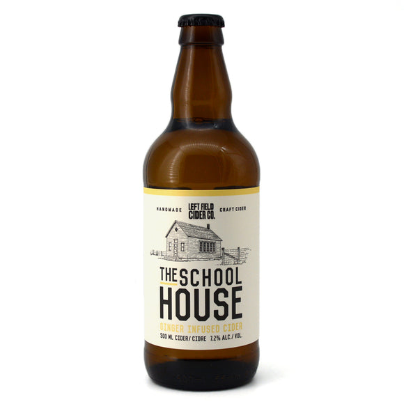 LEFT FIELD CIDER - SCHOOLHOUSE GINGER