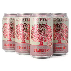 LONETREE APPLE CRANBERRY CIDER 6C