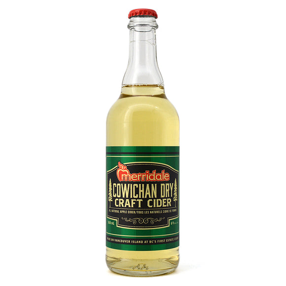MERRIDALE COWICHAN DRY CRAFT CIDER 500ML
