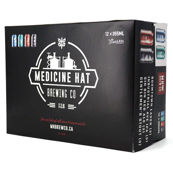 MEDICINE HAT BREW CO CORE FOUR MIXED PACK 12C