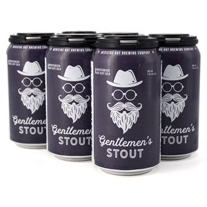 MEDICINE HAT BREW CO GENTLEMEN'S STOUT 6C