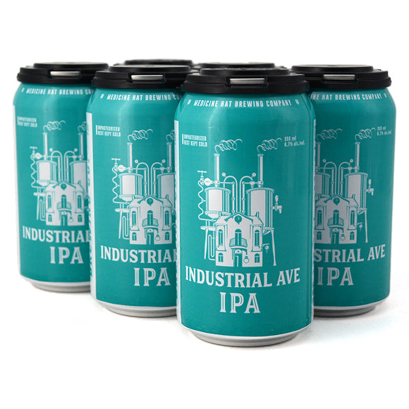 MEDICINE HAT BREW CO INDUSTRIAL AVE IPA 6C