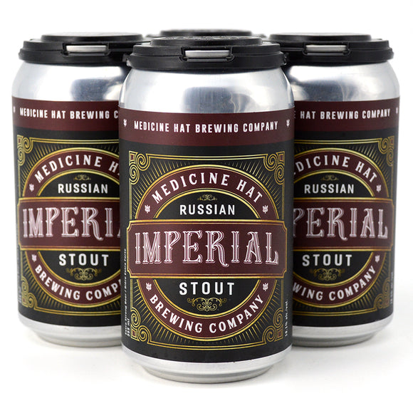 MEDICINE HAT BREW CO RUSSIAN IMPERIAL STOUT 4C