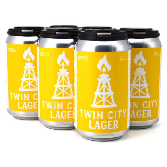 MEDICINE HAT BREW CO TWIN CITY LAGER 6C