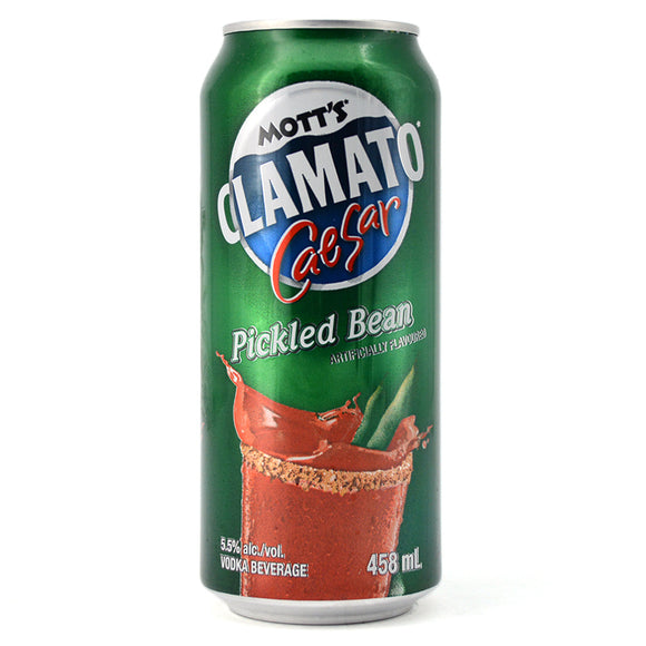MOTT'S CLAMATO CAESAR PICKLED BEAN 458ML
