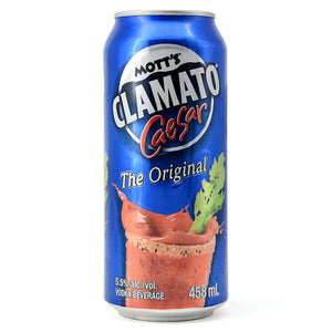 MOTT'S CLAMATO CAESAR THE ORIGINAL 458ML