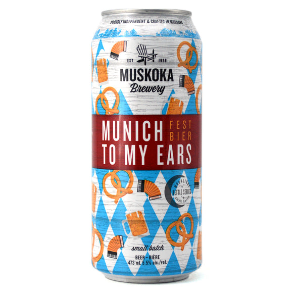 MUSKOKA MUNICH TO MY EARS FESTBIER 473ML