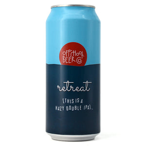 OFFSHOOT RETREAT HAZY DOUPLE IPA 473ML