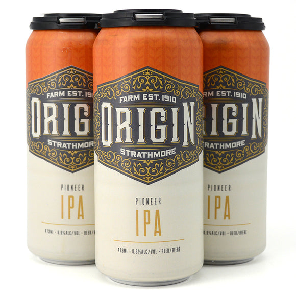 ORIGIN BREWING PIONEER IPA 4C