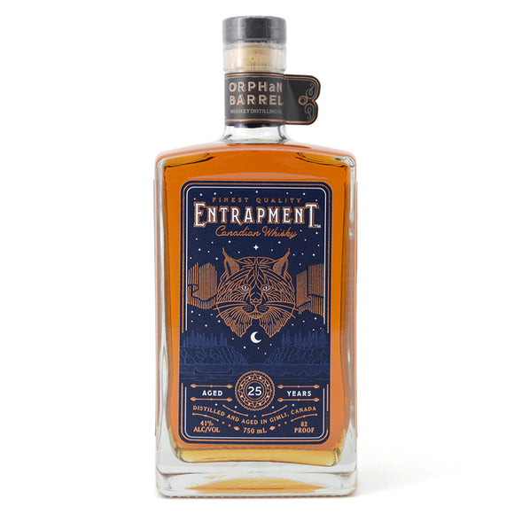 ORPHAN BARREL ENTRAPMENT CANADIAN WHISKY 750ML