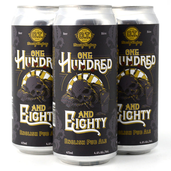 O.T. BREWING ONE HUNDRED AND EIGHTY ENGLISH PUB ALE 4C