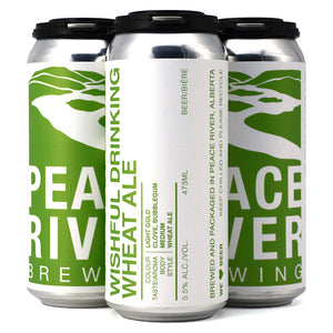 PEACE RIVER WISHFUL DRINKING WHEAT ALE 4C